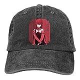 Yaxinduobao Gorra Vaquera Handsome Cowboy Steins Gate Mayuri's Metal Upa Hat Men Women Adjustable Camping Cotton Washed Denim Caps Hats for Outdoor