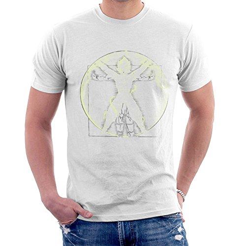 Cloud City 7 Vitruvian Saiyan Goku Dragon Ball Z Men's T-Shirt