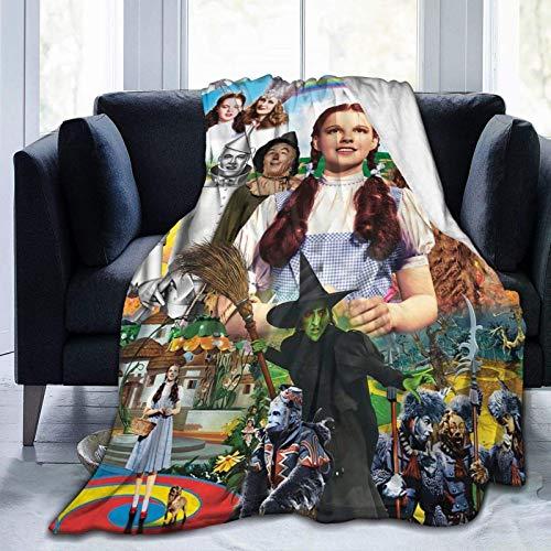 185 Unisex Throw Blankets,Der Zauberer Von Oz Flanelldecken, Waschbare Flanelldecke Für Couch Chair,100x125cm