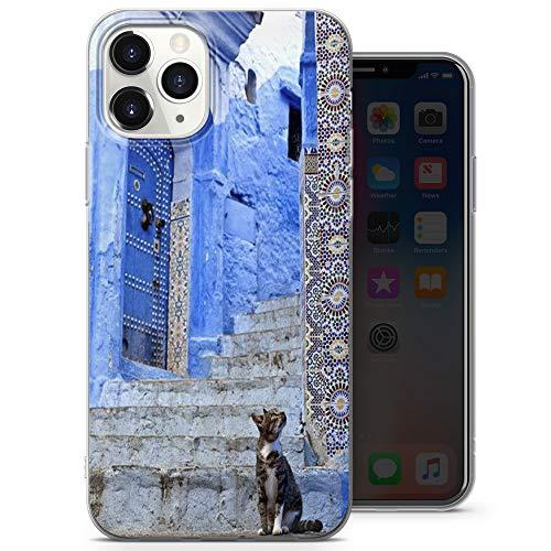 Funda azul para teléfono Romance, bonita funda para iPhone 6+, iPhone 6s+, iPhone 6 Plus, iPhone 6s Plus, iPhone 6s Plus – Delgada y suave TPU silicona parachoques – Diseño 2 – A48