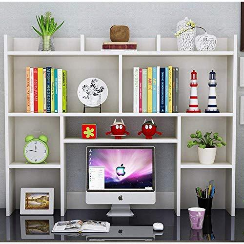 Estantería de múltiples capas de Estudiantes compartida simple tabla de almacenamiento de almacenamiento Librería del estante del estante Oficina RoomBedroom Living Desktop for la computadora de la In