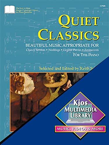 Quiet Classics Ed. Snell Piano Solo: Noten für Klavier