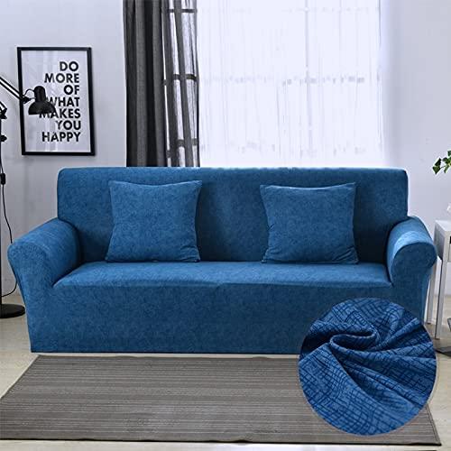 PPOS Protector de sofá Fundas de sofá Impresas para Sala de Estar Funda elástica elástica Fundas de sofá de Esquina seccionales A7 1 Asiento 90-140cm-1pc