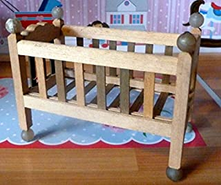 Tynietoy New Vintage Nursery Crib Dollhouse Miniature 1/12 Scale