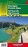 Freytag Berndt Wanderkarten, WK S2, Vinschgau - Ötztaler Alpen - Maßstab 1:50.000