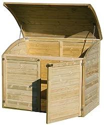 cache poubelle dissimulez vos poubelles de jardin. Black Bedroom Furniture Sets. Home Design Ideas