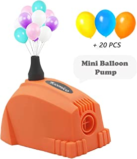 electric balloon pump with timer