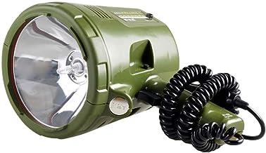 Draagbaar Zoeklicht, 220 W Sterke Xenon Lamp Buiten 100 W Auto Handheld Licht IPX3 Waterdicht 3000 M Bereik Marine Nacht V...