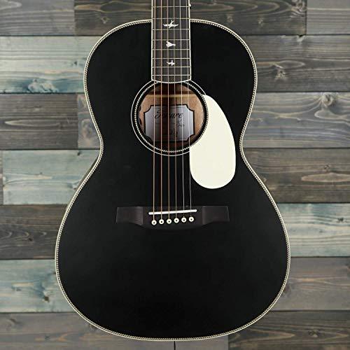PRS SE P20E Parlor Acoustic-Electric Guitar (Satin Black Top)
