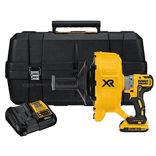 DEWALT 20V MAX XR Drain Snake Kit, Brushless (DCD200D1)