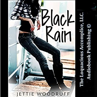 Black Rain audiobook cover art