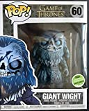 Funko Pop: Game of Thrones - Giant Wight - 6 Inch Vinyl Figure - ECCC 2018 Limited Edition