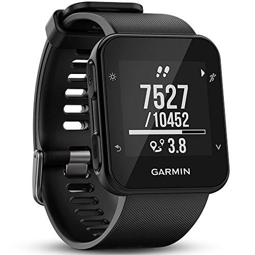 Garmin Forerunner 35 GPS Running Watch con Sensore Cardio al Polso, Connettività Smart e Monitoraggio attività Quotidiana, Nero (Ricondizionato) )