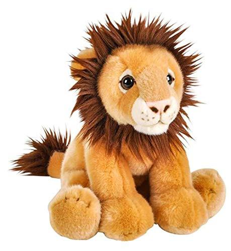 stogiit Simulazione Sveglia Piccolo Animale Leone Orso Scimmia Ippopotamo Peluche Cuscino Bambola Bambino Bambola Bianca 20 Cm