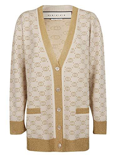 Luxury Fashion | Gucci Dames 605910XKAHT8007 Beige Wol Vesten | Lente-zomer 20