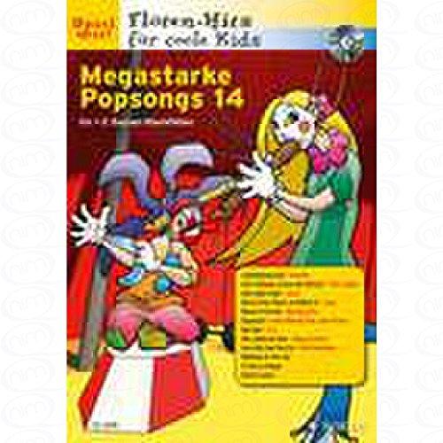 Megastarke Popsongs 14 - arrangiert für Sopranblockflöte - (für ein bis zwei Instrumente) - mit CD [Noten/Sheetmusic]