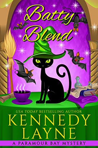 Batty Blend (A Paramour Bay Cozy Paranormal Mystery Book 13) by [Kennedy Layne]
