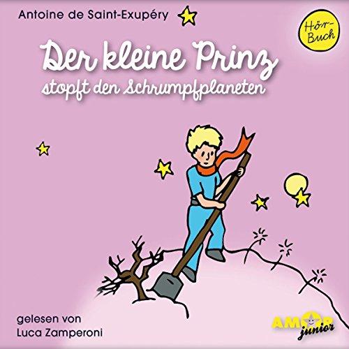 Der kleine Prinz stopft den Schrumpfplaneten Titelbild