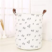 Foldable Storage Baskets Waterproof Canvas Sheets Laundry Clothes Laundry Basket Storage Basket For Toys Folding Storage Box (Color : E)