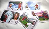 5 verschiedene Kunstdrucke MIT FC BAYERN-NATIONALSPIELERN zum Preis von 3 -direkt vom Künstler 30cm x 42cm