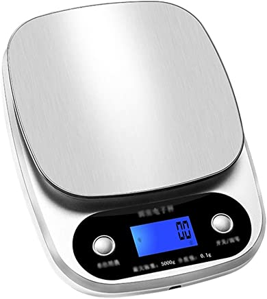 Kitchen Scales - Stainless Steel, USB Charging, Waterproof countertops, Household Kitchen Digital Display Anti-Slip Wire Drawing Multiple Units Food Supplement Baking Measuring Scales - 2 Kinds Range