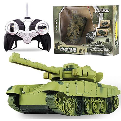 MUMUMI Tanque de Control Remoto Recargable Toy eléctrico Control Remoto de automóvil...