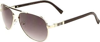 Cher Double Bar Aviator Fashion Sunglasses
