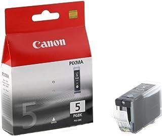 2 X Canon PGI-5 BK Pigment Black Ink Tank