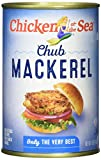 Chicken of the Sea, Chub Mackerel, 15oz Cans (Pack of 12) - Gluten Free, High in Omega 3 Fatty Acids, Protein, & Calcium