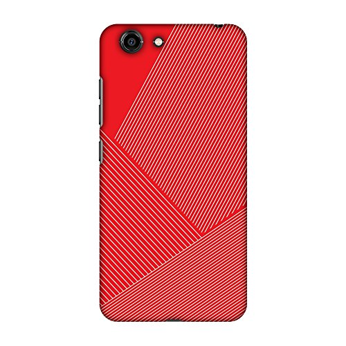 AMZER Slim Designer Snap On Hard Shell Case Back Cover with Screen Care Kit for Gionee S10C - Carbon Fiber Redux Candy Red 1