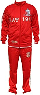 Big Boy Kappa Alpha Psi Divine 9 S3 Mens Jogging Suit Set