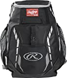 Rawlings R400 Youth Players Team Equipment Backpack, Black