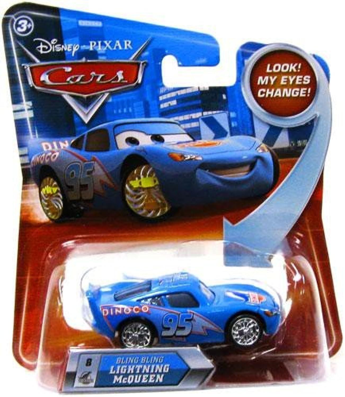 Disney Pixar Cars BLING BLING LIGHTNING MCQUEEN LENTICULAR EYES   by Unknown