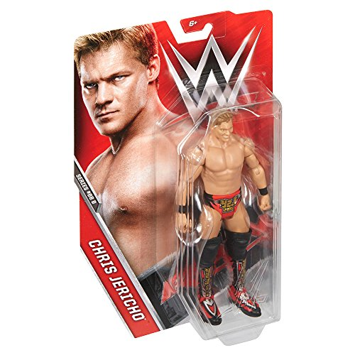 WWE – Series – Chris Jericho – 16 cm Actionfigur mit beweglichen Gelenken