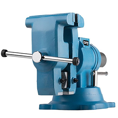Capri Tools 10519 Rotating Base and Head Bench Vise, 6""