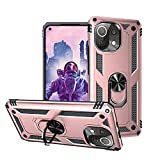 KUAWEI Coque Xiaomi Mi 11 Lite 5G, [360° Support Rotatif] Protection Ultime Militaire Double Couche...