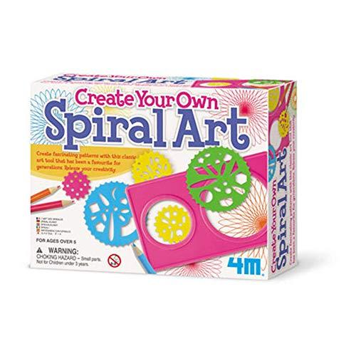 4M - 5604568 - Loisir Créatif - Craft - Créez ta Propre Œuvre d'art - Spirale
