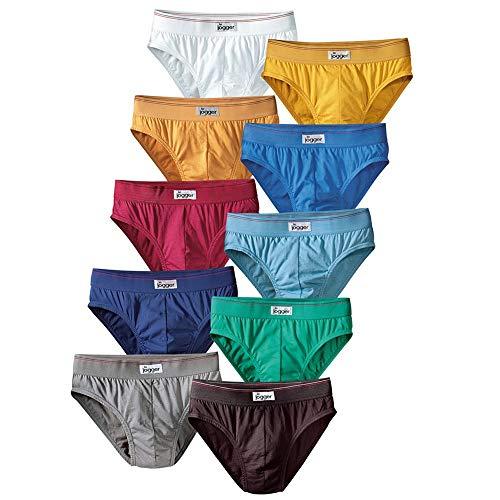 Le Jogger Herren Slips,10er Pack, Unterhosen, Schlüpfer, Baumwolle