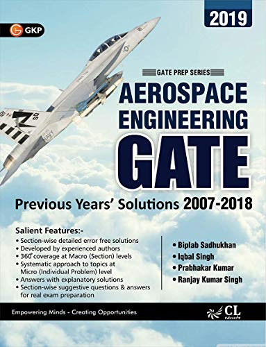 GATE Aerospace Engineering 12 Years Section-Wise Solved Papers