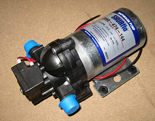 Shurflo 2088-474-144 24VDC 3.0GPM 1/2 inch MPT 2088 Series Delivery Pump without cord by SHURFLO