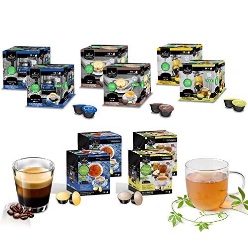 100 Kapseln SanSiro Kaffee&Tee Barista Selection Box No. 3 Cafissimo/Tchibo* kompatibel