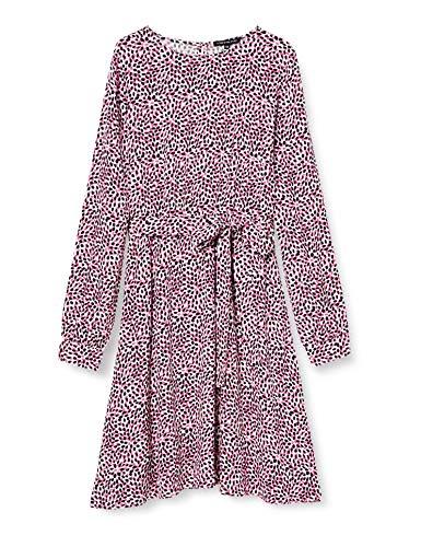 #OneMore Story Damen Kleid Sommerkleid mit Muster, Mehrfarbig (Offwhite Multi Color), 38