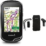 Garmin Oregon 700 GPS-Handgerät - integriertes WLAN, Aktivitätsprofile, Geocaching Live & Garmin Outdoor-Halterungspaket mit Tasche kompatibel mit vielen Garmin Outdoor GPS Geräten