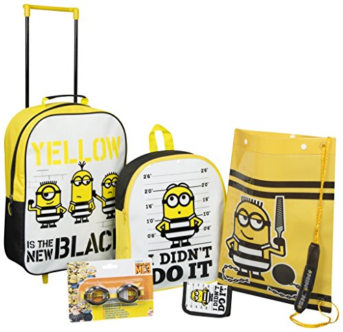 Sambro min13–8102 Despicable Me 3 5-teiliges Trolley Set, (