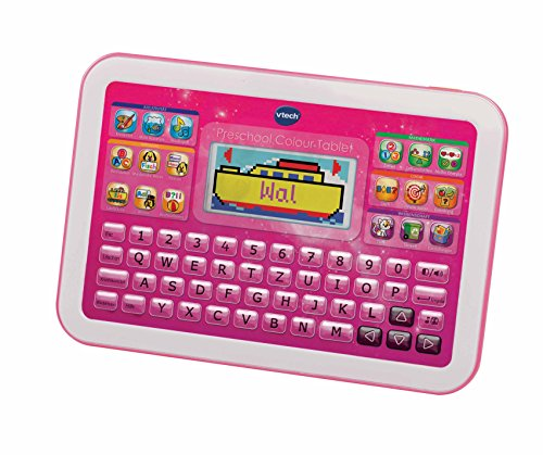 Vtech 80-155254 Preschool Colour Lerntablet, pink