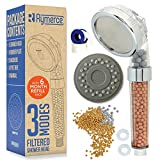 Ionic Shower Head Handheld Replacement - with Refill 3 Modes 3way Function