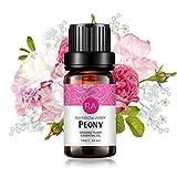 Pfingstrosen Ätherisches Öl 100% Reines Ätherisches Öl Aus Organischer Pflanze Natrual Flower Ätherisches Öl für Diffusor Nachricht Hautpflege Schlaf - 10ML