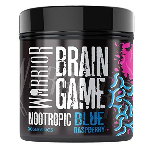 Warrior Supplements Warrior Brain Game 360g – 30 porties – Nootropic – Blauwe Framboos