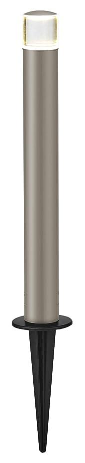 推進、動かす消防士テロリストLIXIL(リクシル) TOEX 美彩(BISAI) ローポールライト 丸形 下配光型 H400 スパイクタイプ シャイングレー/シャイングレー
