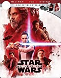 Star Wars: The Last Jedi Limited Edition SteelBook (Blu-Ray+DVD+Digital) CollectiblePackaging